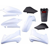 Kit Plasticos Honda Tornado 250 Blanco Solo En Freeway Motos