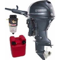 Motores Yamaha 30hp 4t Efi Arranque Eléct, Power Trim Y Caña