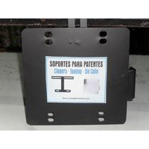 Soporte Chapa Patente Moto Custom/choper/tunning Motovergara