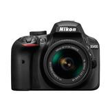 Nikon D3400 18-55 Vr Af-p 24mp Bluetooh Hdmi  Cyber Monday