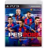Pes 2018 Ps3 Original Pes2018 Pes18 Playstation 3 Alclick