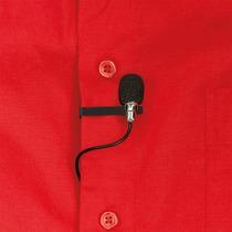 Microfono Corbatero Trust Lava 3.5mm Y Usb Negro Clip Funda