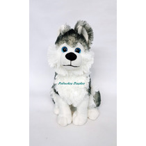 Perro Siberiano De Peluche 40cm