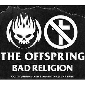 Entradas The Offspring Bad Religion Campo (envio Sin Cargo)