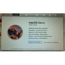 Macbook Pro 13-i7 8gb Ssd-256gb Late 2011 -10 Puntos- Usada