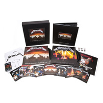 Metallica Master Of Puppets Deluxe Box Set Nuevo Stock