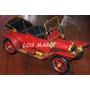 Auto Antiguo De Chapa Replica Retro Vintage Adorno Artesanal