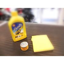 Combo 5 Rouser 135 Filtro Aceite+aire+1 Ax5 Lidermoto