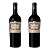 2 Botellas Rutini Cabernet Malbec