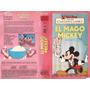 El Mago Mickey Walt Disney Vhs Infantil Vintage Animacion