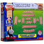 Thomas & Friends Set De 12 Vias De Madera Real Wood