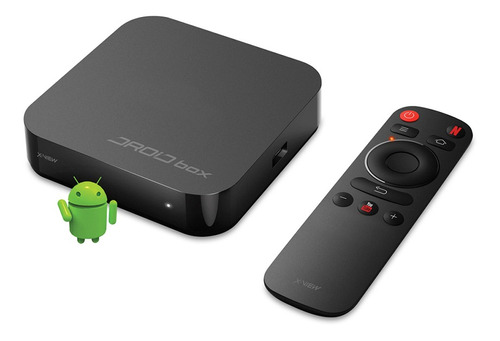 Consola X-view + Tv Box S Plus