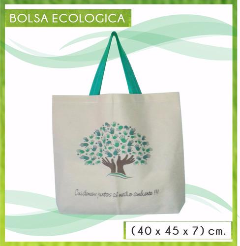 d681b8da0 Bolsas Ecologicas X 100b. (40x45x7)cm Friselina De 80 Grm