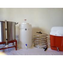 Cerveza Artesanal- Kit 4 (quemador 10.000 Cal Fundición)!!