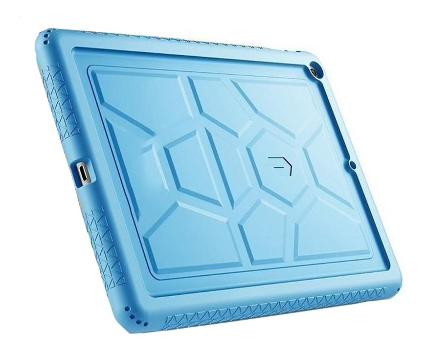 POETIC TURTLE SKIN HEAVY DUTY PROTECTION SILICONE CASE FOR APPLE IPAD 9.7 2017 AZUL