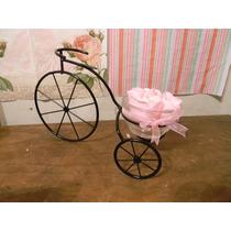 Centros De Mesa Bici, Souvenirs, Armado Candy Bar..en Hierro