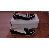 Zapato Mocasin De Cuero