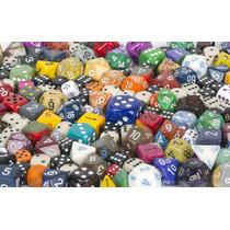 Set De Dados Chessex!! Cartas Lote Mazo Magic Z