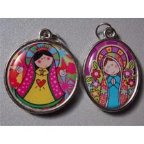 Dijes Personalizados Virgencitas Porfis Comunión Bautismo!!!