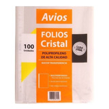 Folios Borde Blanco Stendy Oficio 1º Calidad Pack X100