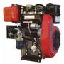 Motor Eje Horizontal 20hp Diesel Bicilindrico Toay