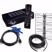 Decodificador Sintonizador Tda Hd + Antena Exterior + Cable