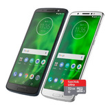 Celular Motorola Moto G6 Xt-1925 32gb 3gb + Sd 32gb Regalo!!