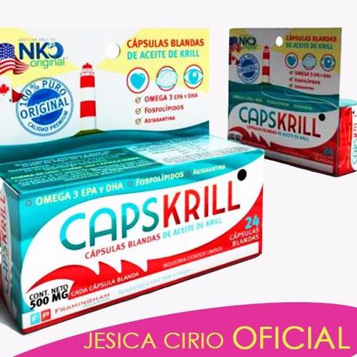 Capskrill Aceite D Krill Omega 3 Jesica Cirio Tienda Oficial