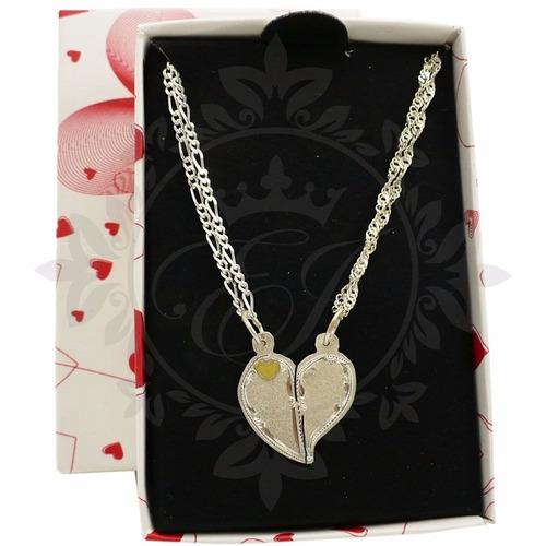 ca80e078744c Conjunto Media Medalla Plata Y Oro Novios Para Grabar Cadena en venta en  Caballito Capital Federal Capital Federal por sólo   1490