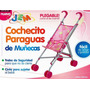 Coche Paraguita Muñecas Bebes Juguete Plegable Jem Envio Int