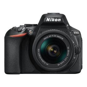 Nikon D5600 18-55mm Vr Kit Dslr Color Negro