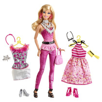 Barbies Fashionistas Fashion Fabulous Doll