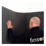 Panel Acústico Finson 50 X 50 X 3 Cm. Envíos A Todo El País