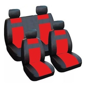 Universal Cuero Eco-juego completo de fundas de asiento de coche Peugeot 106 206 207 306 208
