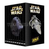 Star Wars Saga Completa Pack 10 Peliculas Colección En Dvd