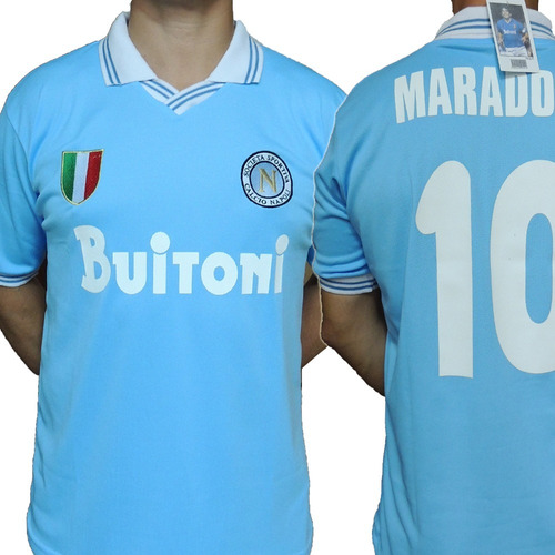 Camiseta Napoli Retro 10 Maradona !! 033cd6e94e458
