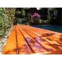 Deck De Madera Eucalyptus Premium Con Colocación Incluída