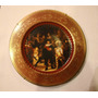 Antiguo Plato Porcelana Tsui Rembrandt - Oro 24 K(159028)