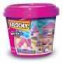 Blocky Balde Basico 2 Nena 275 Piezas Dimare Original