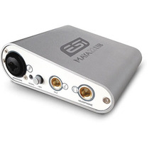 Esi Maya22usb Placa De Audio 2 Input/2 Output-usb 2.0 24bit