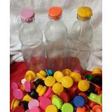 Botella De Tomate De 1lt Con Tapon Plastico X 1uni