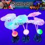 Adorno Corales De Silicona Fluorescentes Pack De 3 Unidades
