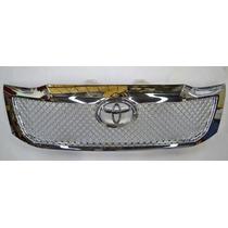 Rejilla Toyota Hilux 2012/2015 Cromada Accesorio Tuning