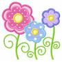 Diseños Matrices P/ Maquinas De Bordar Flores