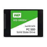 Disco Sólido Interno Western Digital Wd Green Wds240g1g0a 240gb Verde