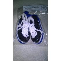 Zapatillas De Crochet Bebes