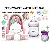 Almohada Amamantar+set Gym+kit Avent Natural¡¡13 Productos