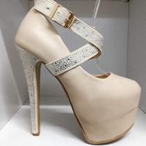 Zapato Mujer Guillermina Fiesta Altos