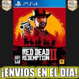 Red Dead Redemption 2 Ps4 Playstation 4 Digital 2° 50% Off