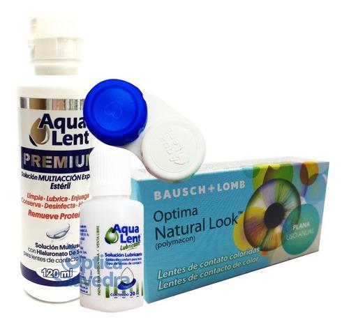 6918394c36 Optima Natural Look Lentes Color Anual Liquido 120 Lagrima